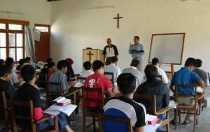 Bible / discipleship training in Nepal