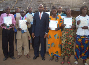 School of Ministry graduates in Tanzania (Pastor Tom at center)