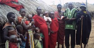 Pastor Tom establishing a  new church among Maang'ati Tribe in Morogoro, Tanzania