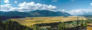 Panoramic of the Bonners Ferry Area