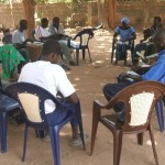 Planting a new church through Bible study with the youth in Senegal