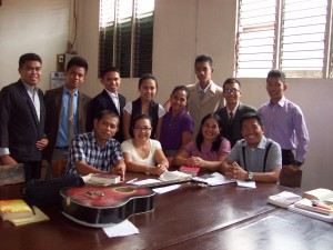 Students and Faculty of The Christian Fellowship School of Ministry