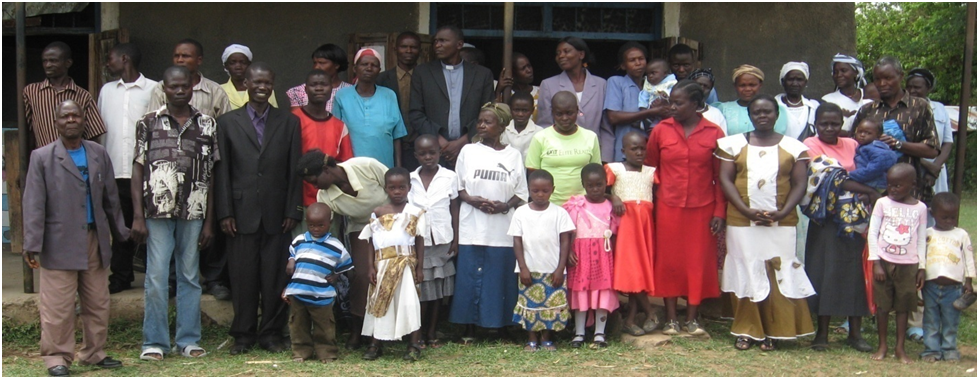 A New Church Plant in Nakhwana, Bungoma county of Western Kenya under Pastor Kizito