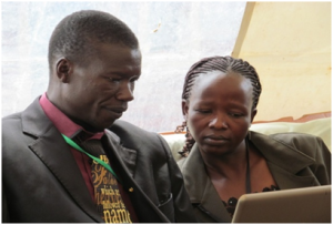 Pastor Simon  and Jane  MacOnyango