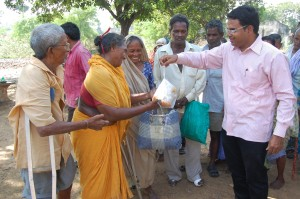 PASTOR RAO HELPING THE NEEDY