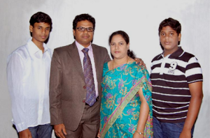 Pastor Rao and family
