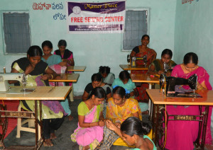 Sewing school for underprivileged women
