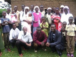 First church plant in western Kenya
