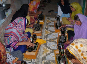 Sewing class - 14 graduates