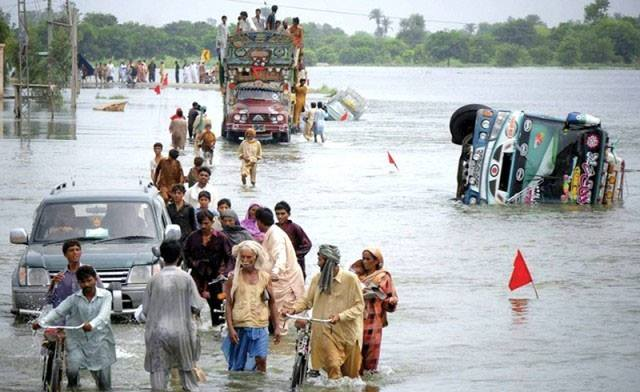 Pakistan flood 1