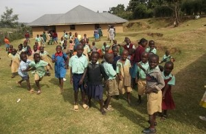 Orphans going back to school
