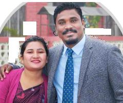 Pastor Ruben & wife