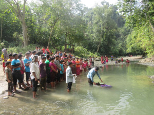 Baptism at Remote Village