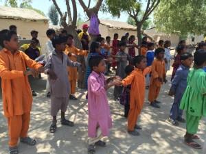 Singing & Prayer with the Children