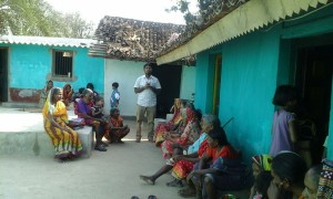 Pastor Samuel ministers to the widows