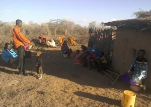 Preaching at a Tanzanian Village