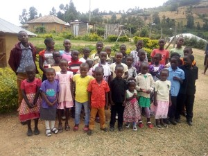 Orphans currently residing at the ministry