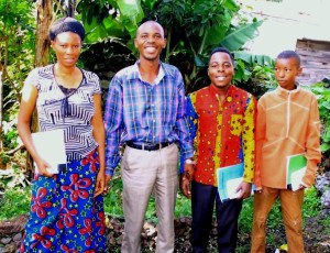 Pastor Rubeneka and family