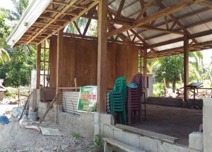 The building of a new pastoral house