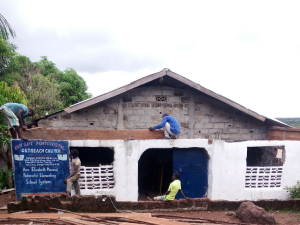 Working on the Church Building